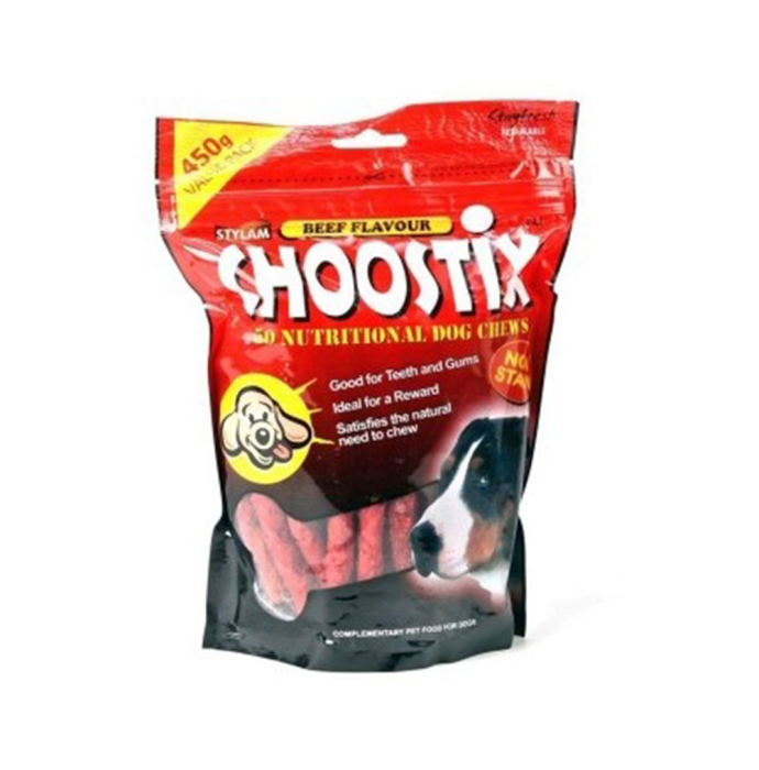 Choostix Beef Dog Treat
