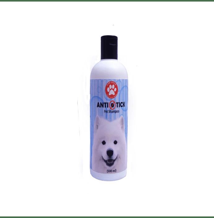 Pawzone Anti Tick Shampoo For Dogs