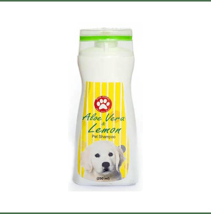 Pawzone Aloe Vera & Lemon Shampoo For Dogs