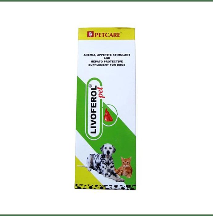 Petcare Livoferol Pet Supplement Pack of 2