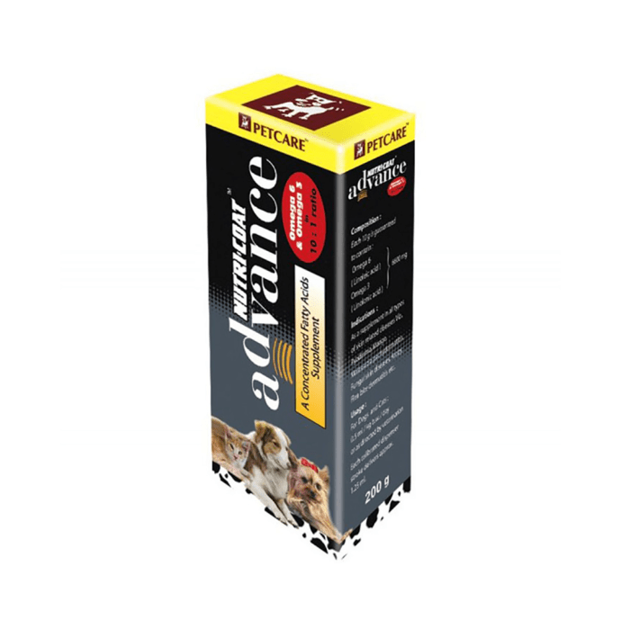 Petcare Nutricoat Advance Supplement For Dogs
