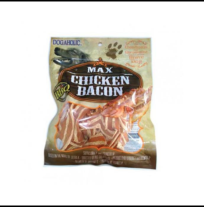 Max Chicken Bacon Strips, BBQ Dog Treats