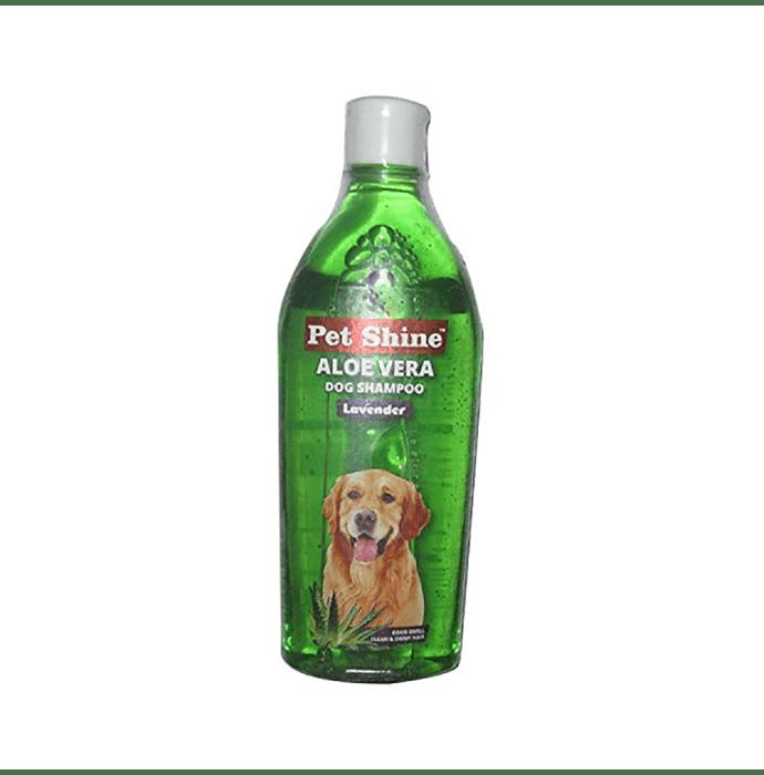 SkyEc Pet Shine Aloe Vera Lavender Dog Shampoo