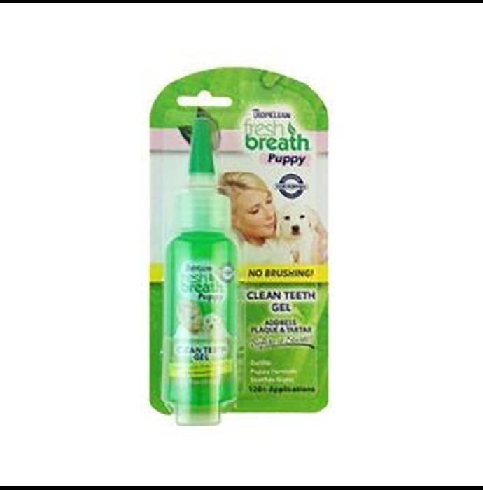Tropiclean Fresh Breath Puppy Clean Teeth Gel