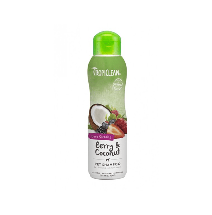 Tropiclean Berry & Coconut Pet Shampoo