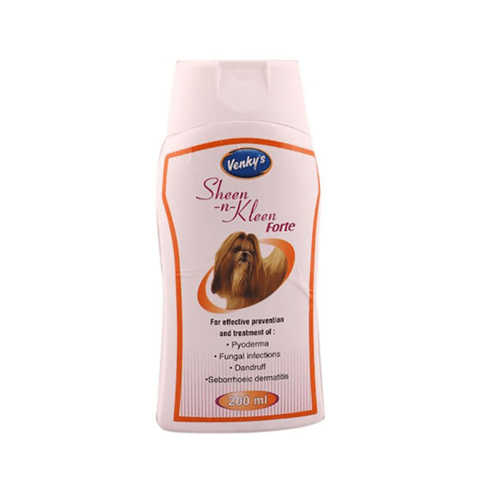 Venky's Sheen n Kleen Forte Shampoo For Pets