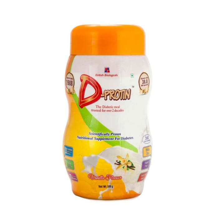D- Protin Powder Vanilla