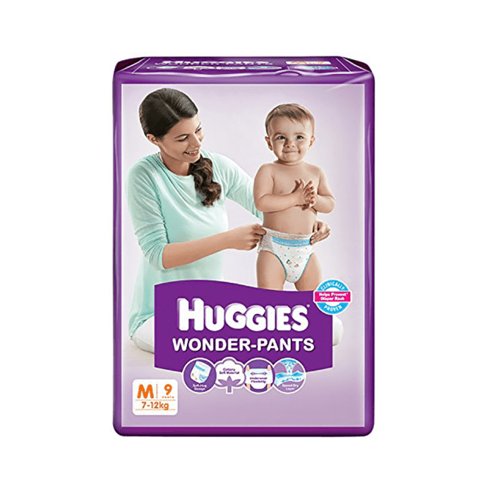 Huggies Wonder Pants Diaper M