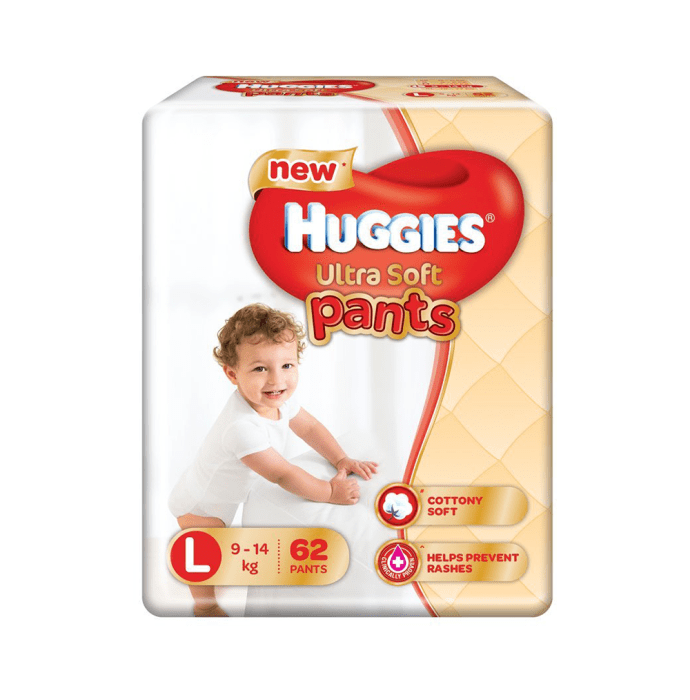 Huggies  Ultra Soft Pants Premium Diaper L