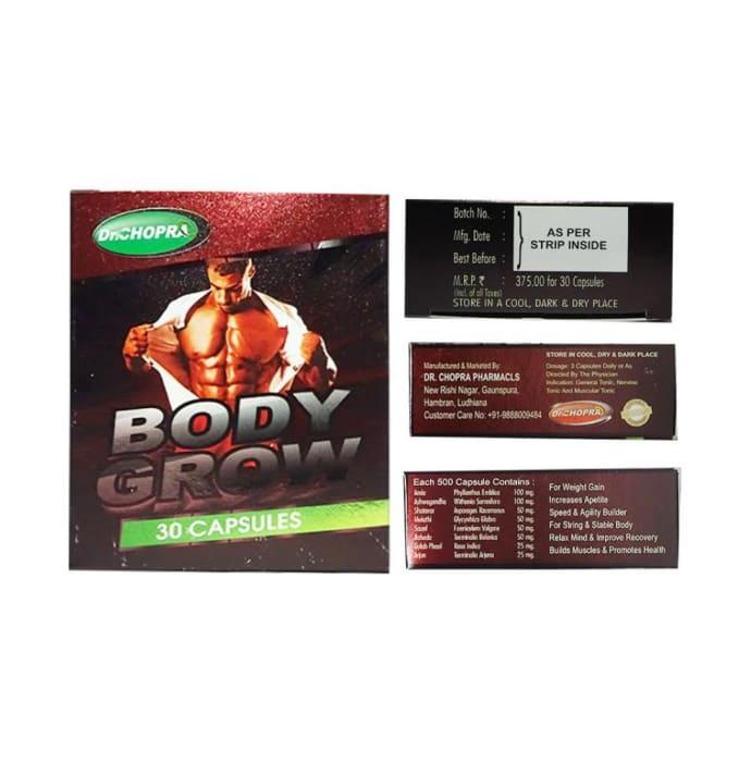 Body Grow Capsule Pack of 2