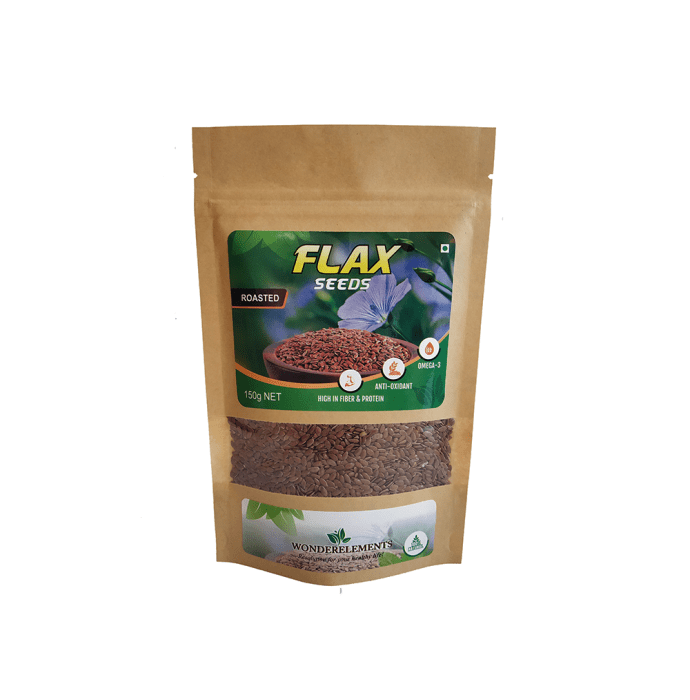 Wonderelements Roasted Flax Seeds