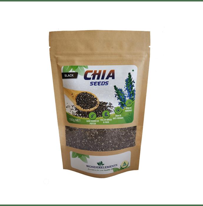 Wonderelements Black Chia Seeds