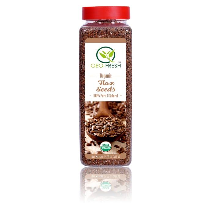 Geo Fresh Organic Flax Seeds