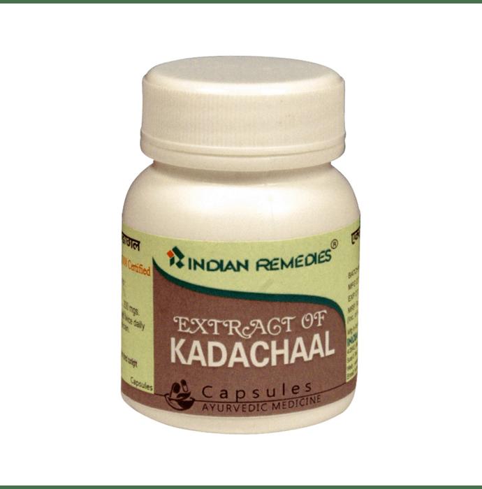 Indian Remedies Extract of Kadachaal Capsule
