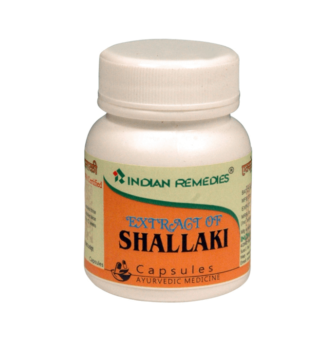 Indian Remedies Extract of Shallaki Capsule