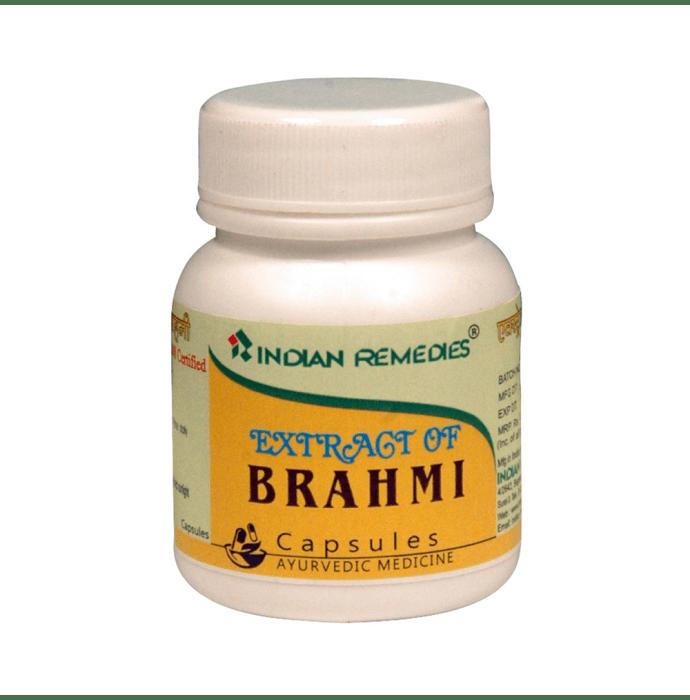 Indian Remedies Extract of Brahmi Capsule