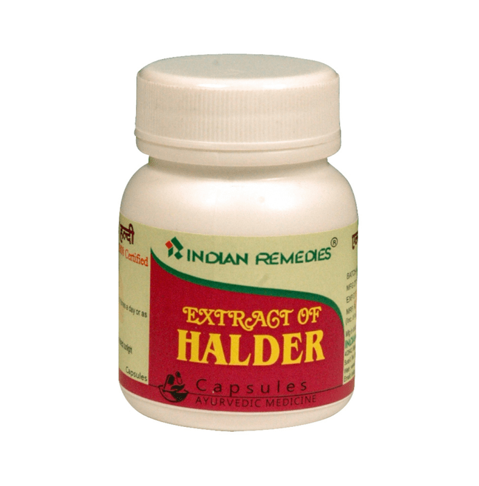 Indian Remedies Extract of Halder Capsule