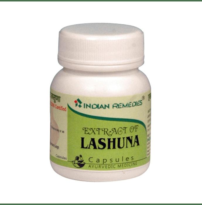 Indian Remedies Extract of Lashuna (Garlic) Capsule