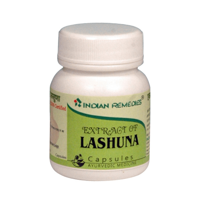 Indian Remedies Extract of Lashuna (Garlic) Capsule