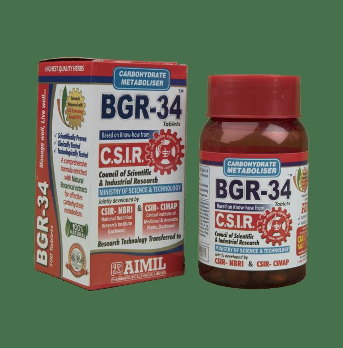 Bgr-34 Tablet