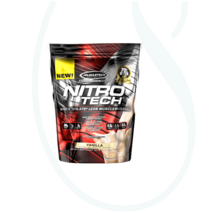 Muscletech Performance Series Nitro Tech Vanilla