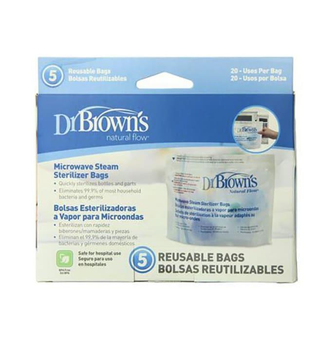 Dr. Brown's Natural Flow Microwave Steam Sterilizer Reusable Bag