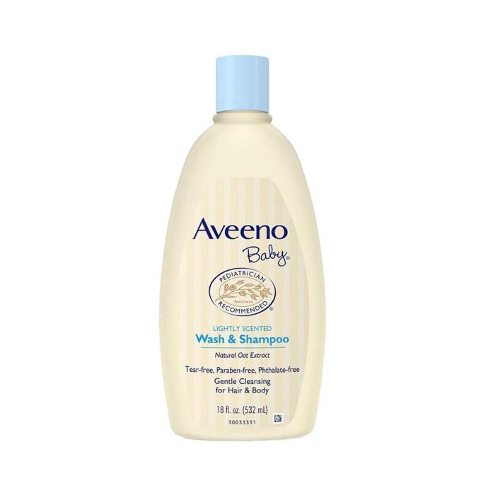 Aveeno Baby Lightly Scented Wash & Shampoo