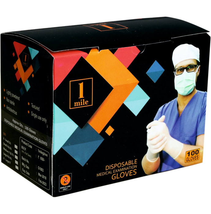 1Mile Examination Gloves XS