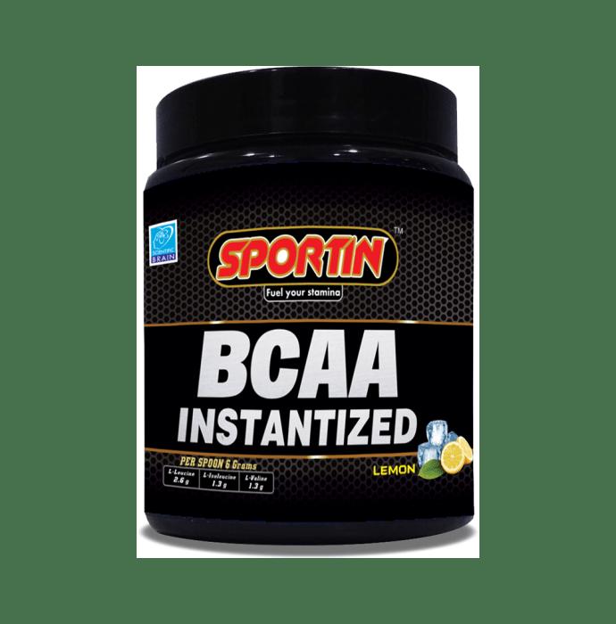 Sportin BCAA Instantized Powder Lemon