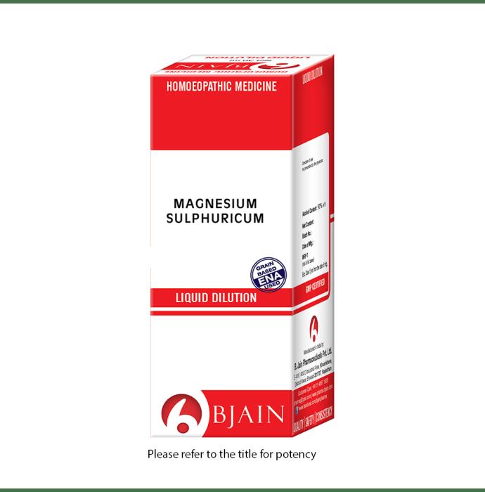 Bjain Magnesium Sulphuricum Dilution 6 CH