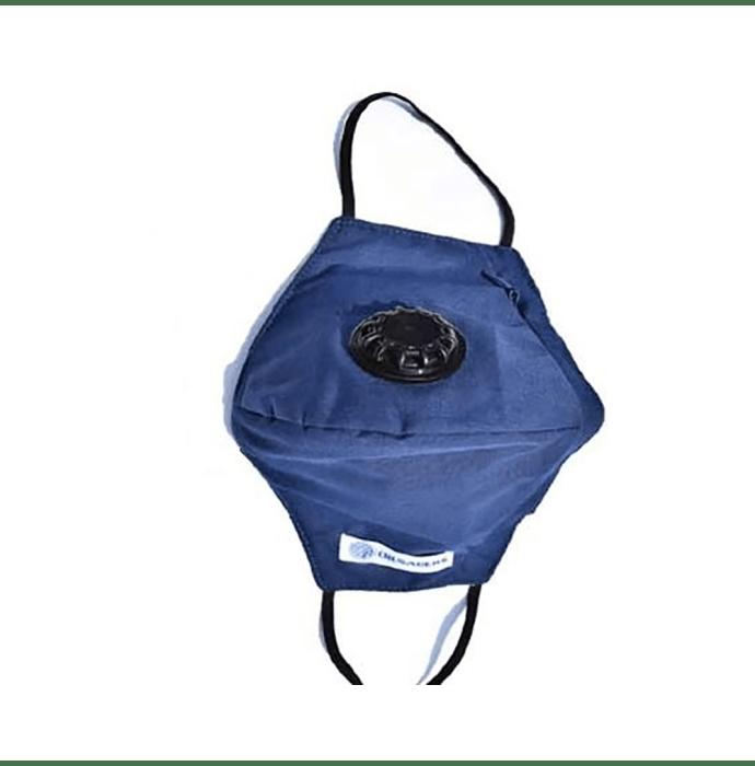 Crusaders Washable Marathon Mask N99 + Carbon 4 Layer Filter Blue