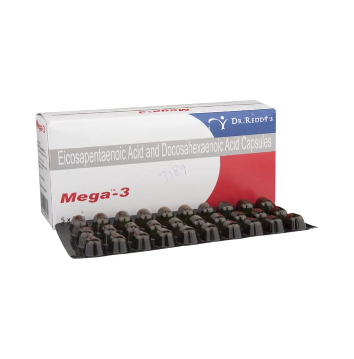 Mega -3 Soft Gelatin Capsule