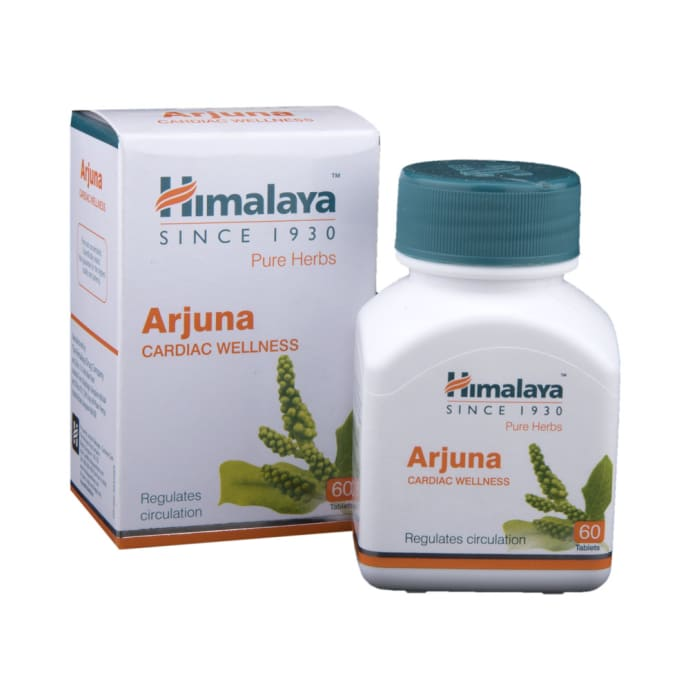 Himalaya Wellness Pure Herbs Arjuna Cardiac Wellness Tablet