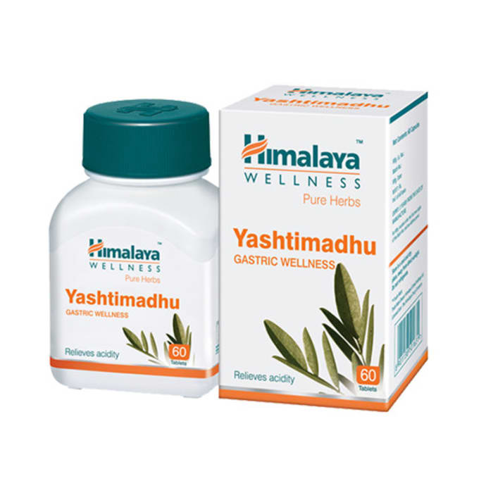 Himalaya Wellness Pure Herbs Yashtimadhu Gastric Wellness Tablet