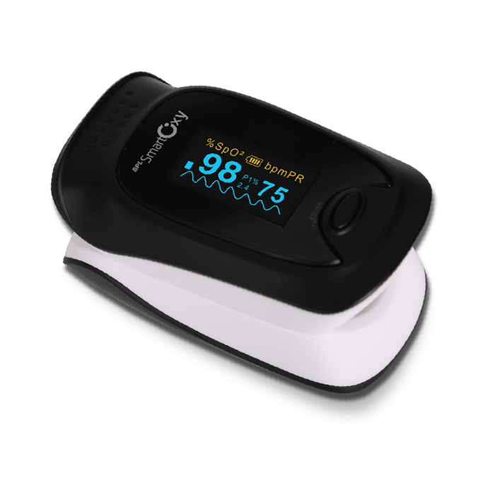 BPL Smart Oxy Pulse Oximeter with Perfusion Index Black