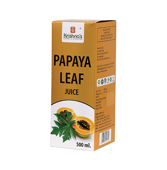 Krishna's Papaya Leaf Juice