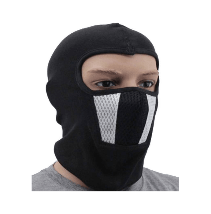Alamdar Linera Mask Black