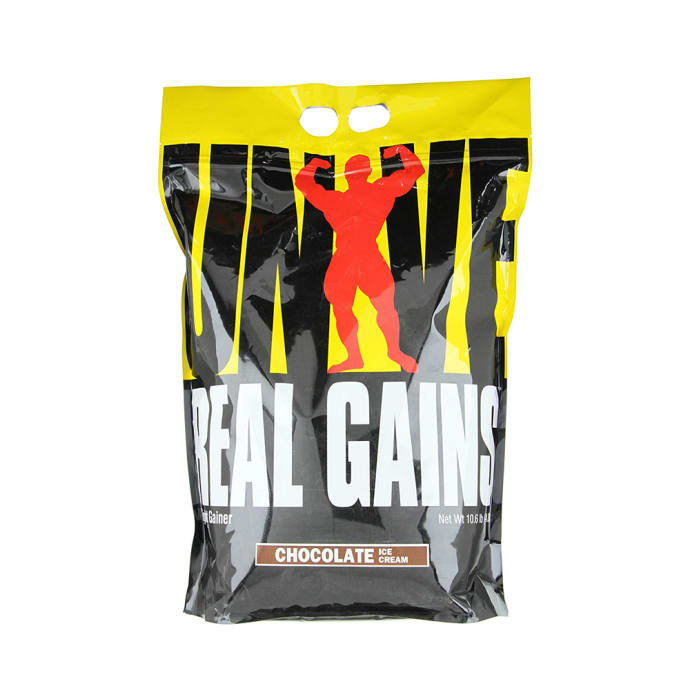 Universal Nutrition Real Gains Chocolate Ice Cream