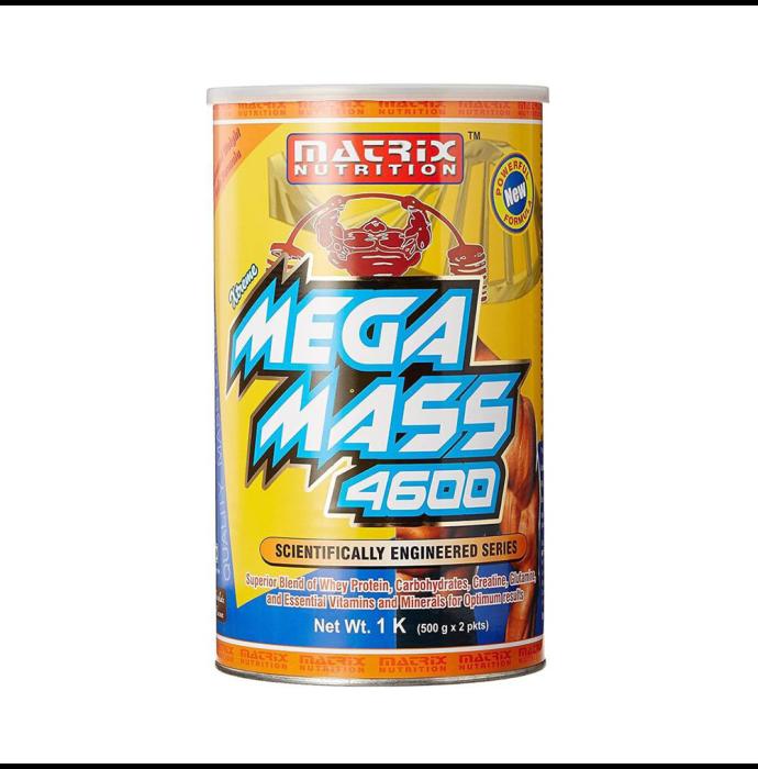 Matrix Nutrition Mega Mass 4600 Chocolate