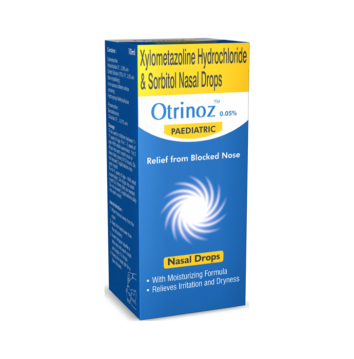 Otrinoz Pediatric 0.05% Nasal Drops