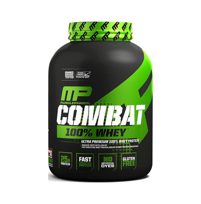 Muscle Pharm Combat 100% Whey Chocolate Milk