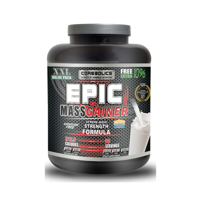 Corebolics Epic Mass Gainer Strawberry Ice-Cream