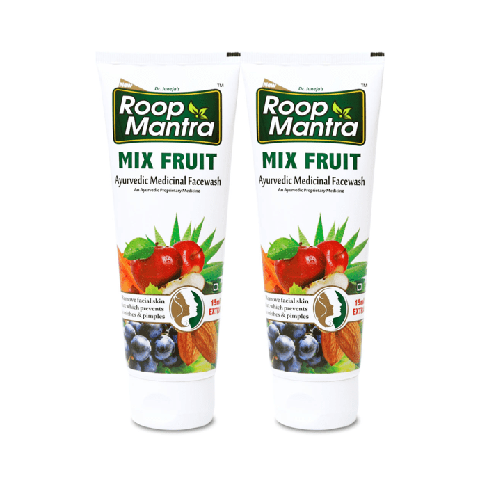 Roop Mantra  Mix Fruit Face Wash Pack of 2