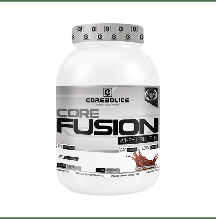 Corebolics Core Fusion Whey Protein Chocolate Milkshake