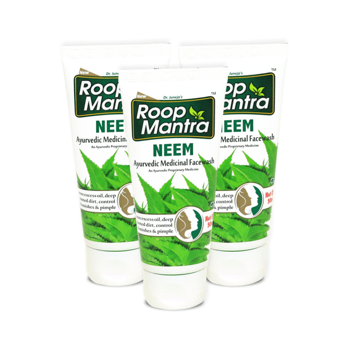 Roop Mantra  Neem Face Wash Pack of 3