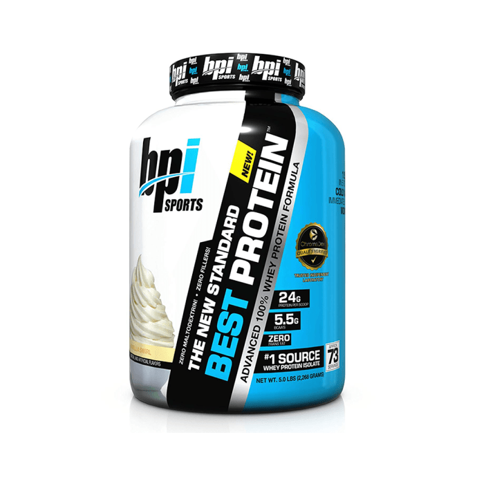 BPI Sports Best Protein Powder Vanilla Swirl