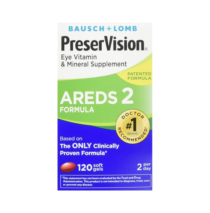 Bausch PreserVision AREDS 2 Softgels