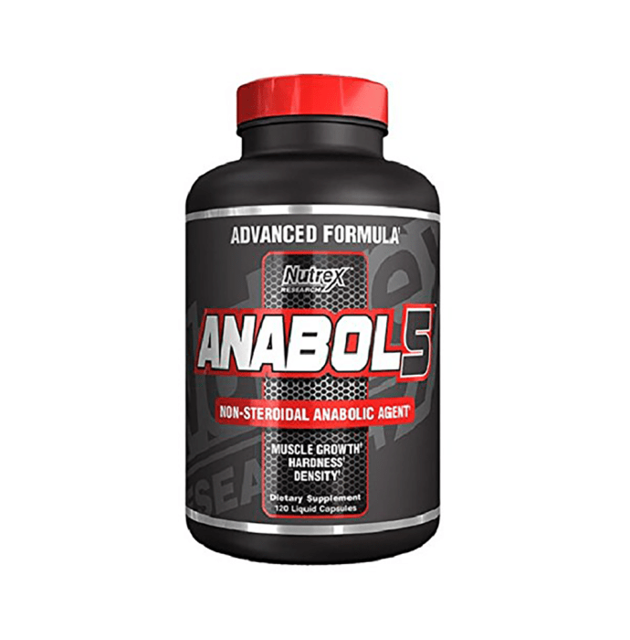 Nutrex Research Anabol 5 Liquid Capsule