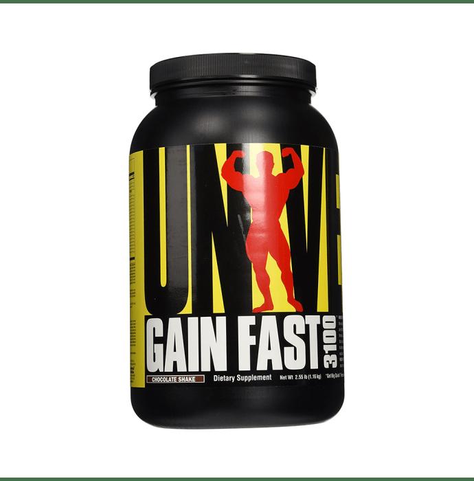 Universal Nutrition Gain Fast Chocolate Shake