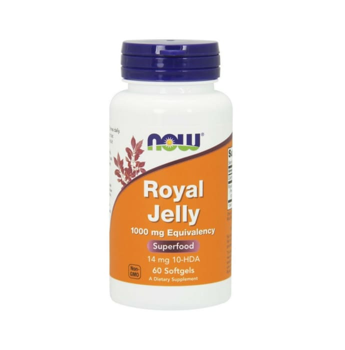 NOW Foods Royal Jelly 1000mg Softgels